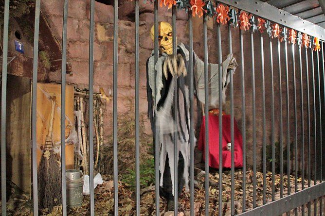 Halloweenspektakel am Kyffhäuser 2017 (Foto: Stadtmarketing Bad Frankenhausen)